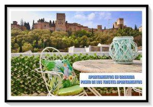 Dónde dormir en Granada    Apartamentos  Paseo de los Tristes