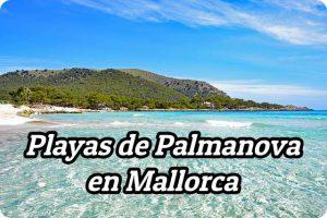 Playas de Palmanova en Mallorca – ¿Cuántas hay?