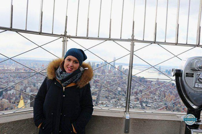 vistas desde el Empire State Building