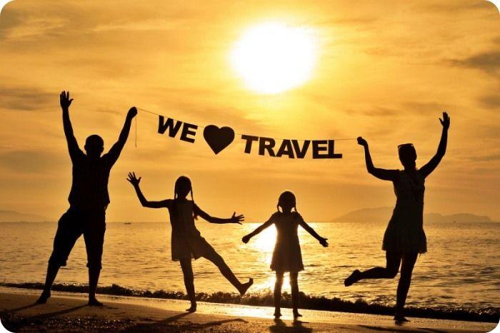 viajar con tu familia