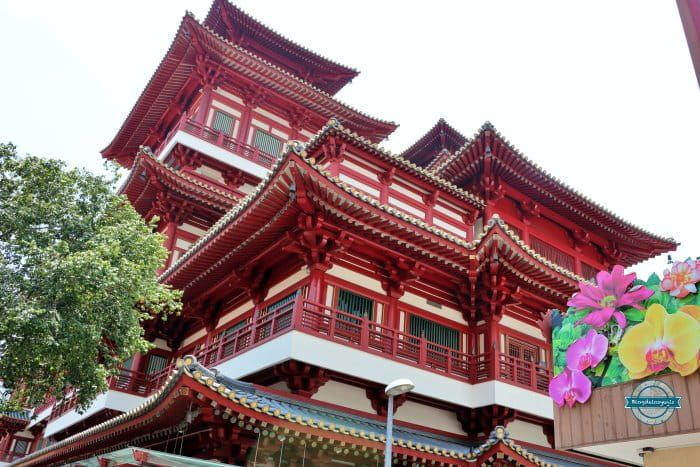 templo de la reliquia del diente de Buda