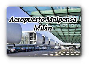 Aeropuerto Malpensa a Milán