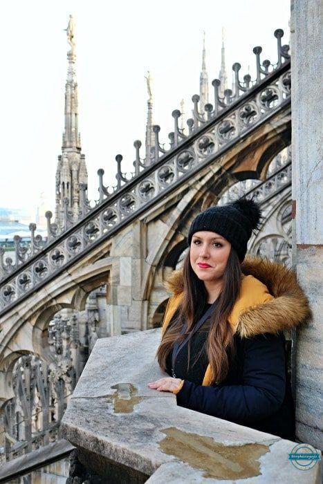 catedral de milan terraza