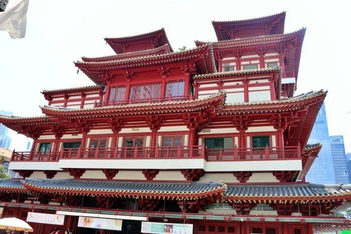 templo de la reliquia del diente de buda singapur