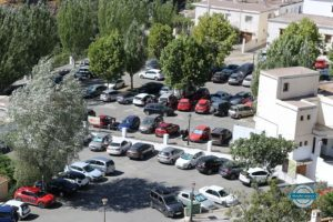 donde aparcar en Pampaneira