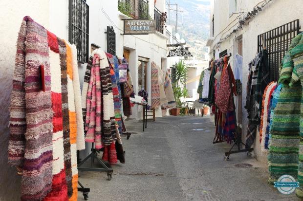 tiendas artesania pampaneira