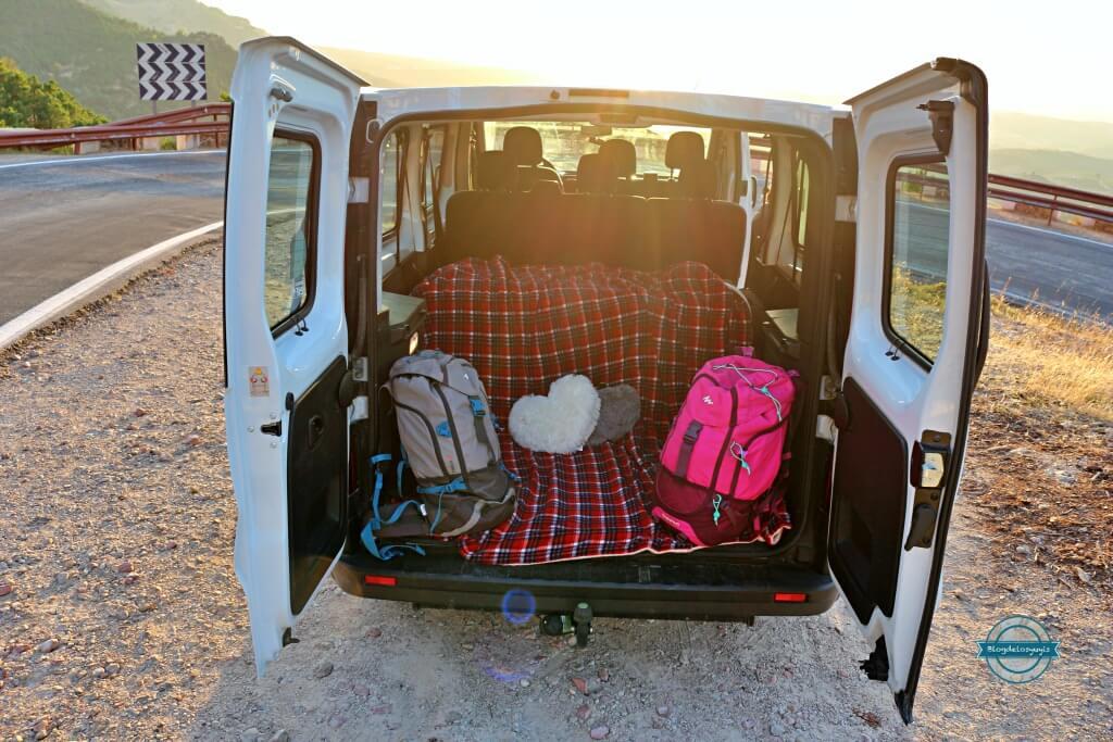 alquiler de furgonetas para ir de camping