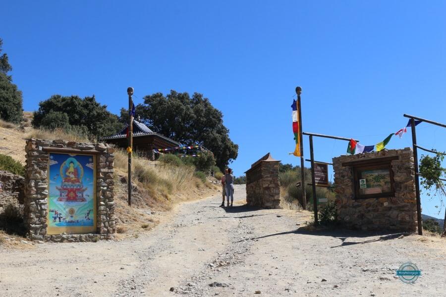 entrada o sel ling centro budista en granada