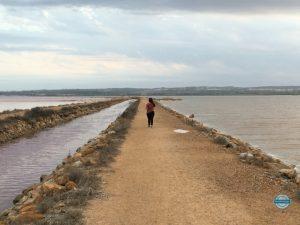 Visitar la laguna rosa de Torrevieja
