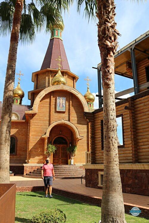 iglesia ortodoxa rusa en altea