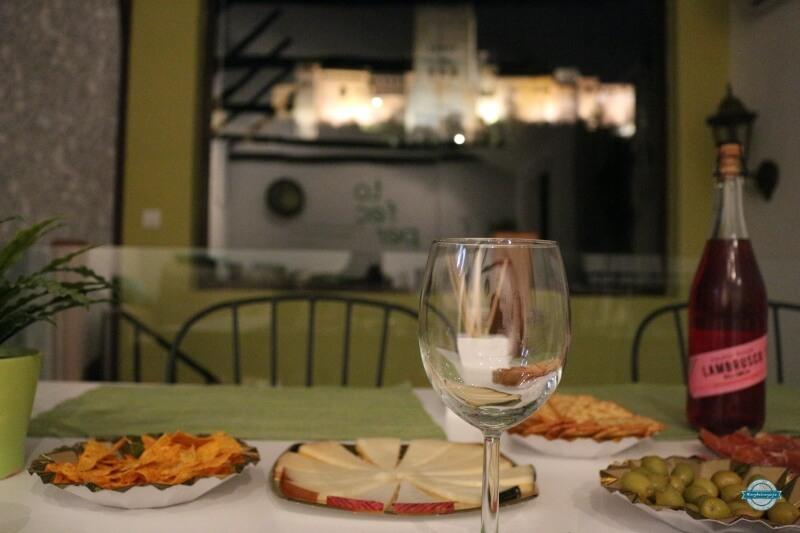 hoteles con vistas a la alhambra