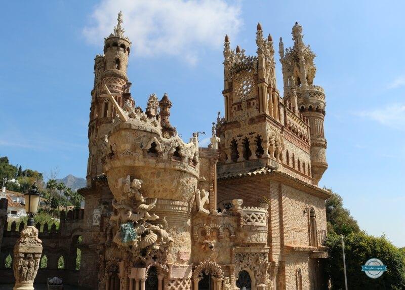 castillo de colomares en benalmadena