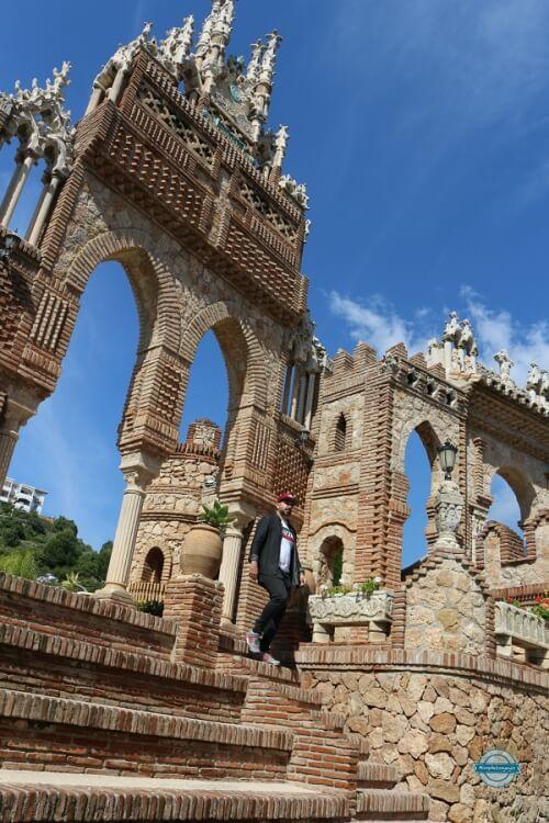 Visitar castillo de Colomares en Benalmádena