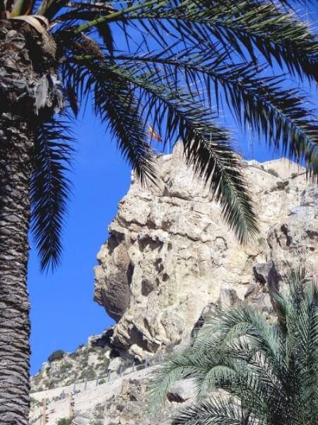 visitar el castillo de Santa Bárbara en Alicante