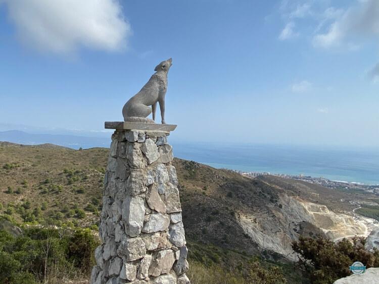 hacer ruta cañada del lobo Málaga